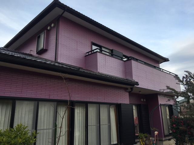 夷隅郡御宿町御宿台K様邸 外壁塗装工事 Before