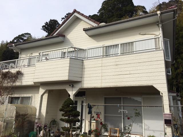 夷隅郡大多喜町E様邸 屋根・外壁塗装工事 Before