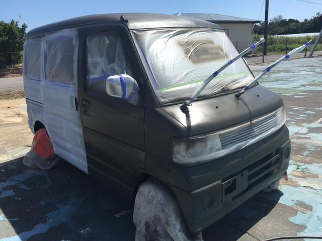 一宮町M様 自動車塗装