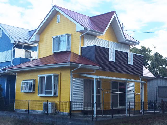 いすみ市岬町S様邸 屋根・外壁塗装工事 After