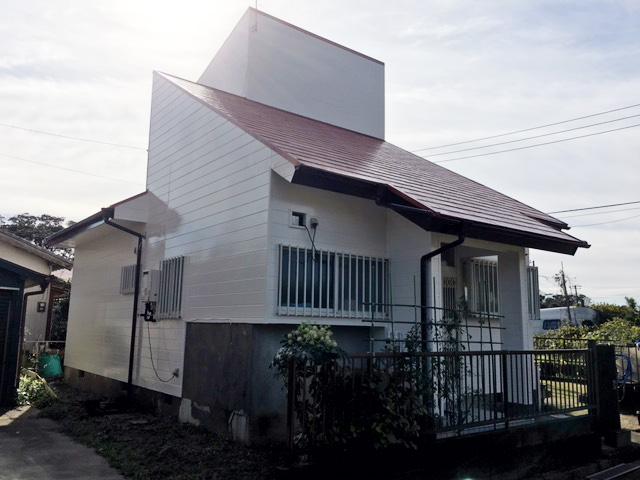 いすみ市岬町H様邸 屋根・外壁塗装工事 After