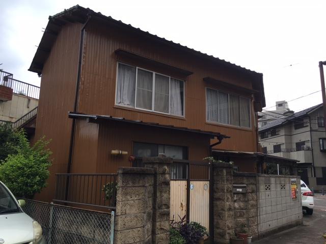 千葉市中央区K様邸 外壁塗装工事 After