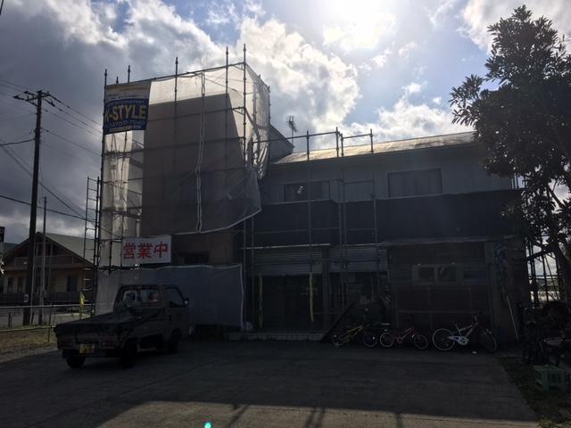 いすみ市岬町T様所有物件 屋根• 外壁塗装工事