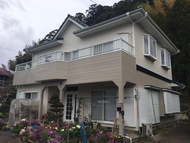 夷隅郡大多喜町E様邸 屋根・外壁塗装工事 After