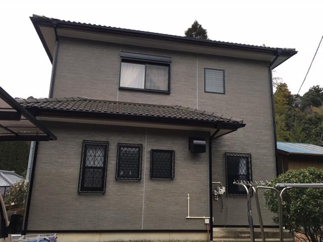 夷隅郡大多喜町板谷S様邸 外壁塗装工事 After