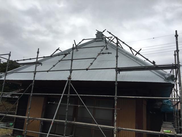 いすみ市下布施S様 屋根塗装工事