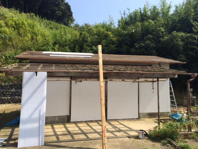 いすみ市K様邸 外壁塗装屋根張り替え工事 Before