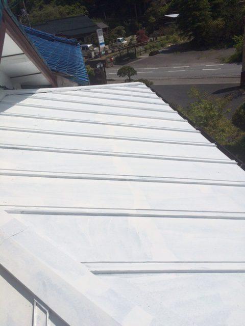 市原市 旅館喜代元様 屋根塗装工事