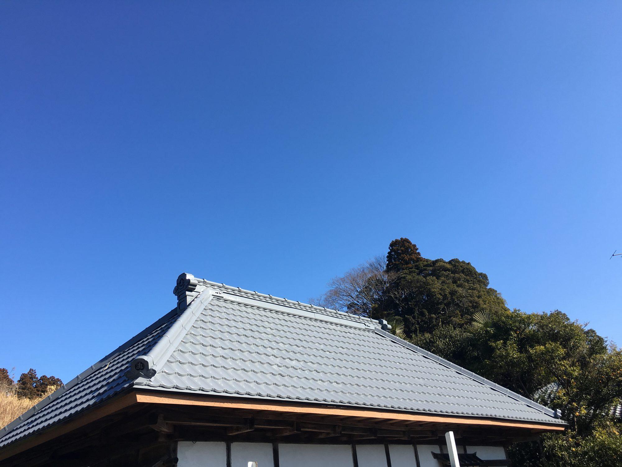 夷隅郡大多喜町K様邸 屋根塗装工事 After