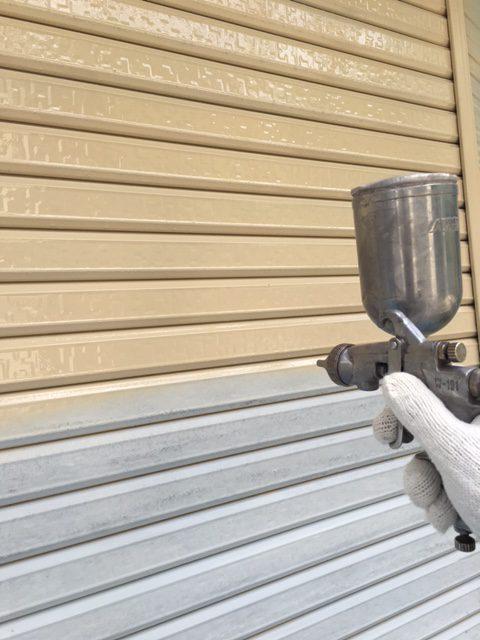 いすみ市深堀S様邸 車庫塗装工事