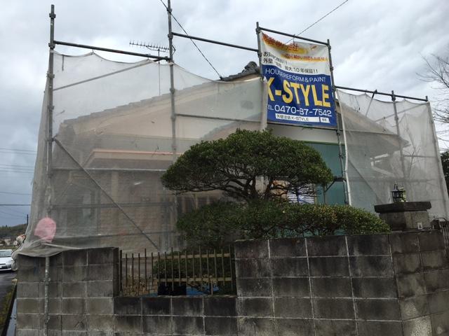 長生郡睦沢町N様邸 外壁塗装工事